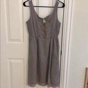 Anthropologie size XS new wt cotton dress